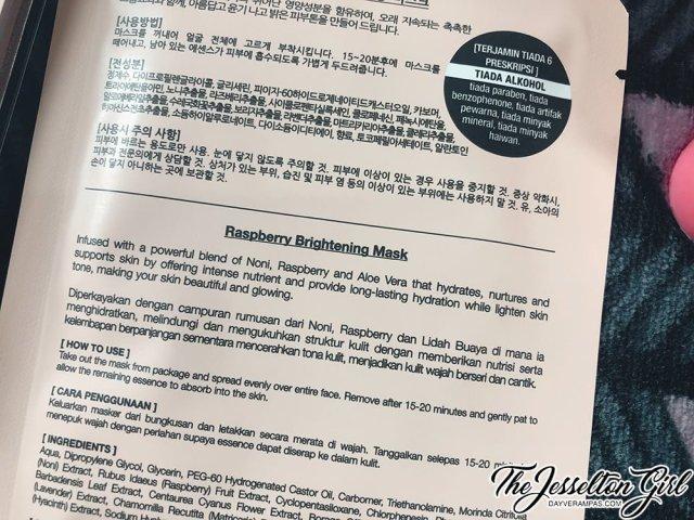 Beauty on Budget: Jayeon's Face Sheet Mask – Hydrating, Whitening & Brightening, The Jesselton Girl