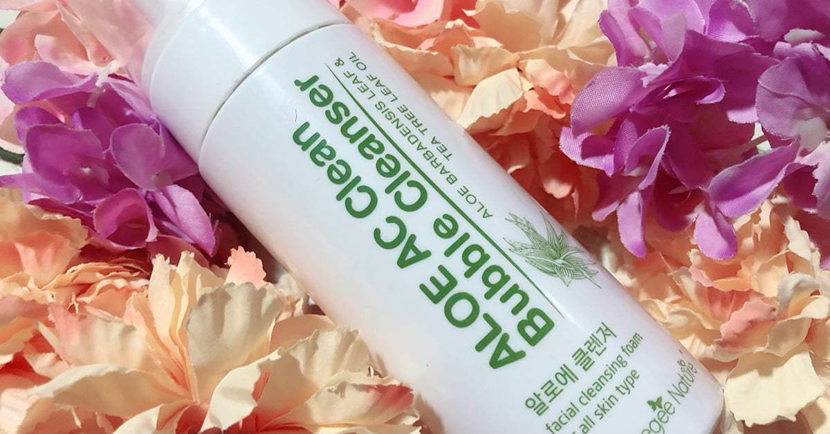 Beauty: Hansaegee Nature Aloe AC Clean Bubble Cleanser for Healthy Complexion