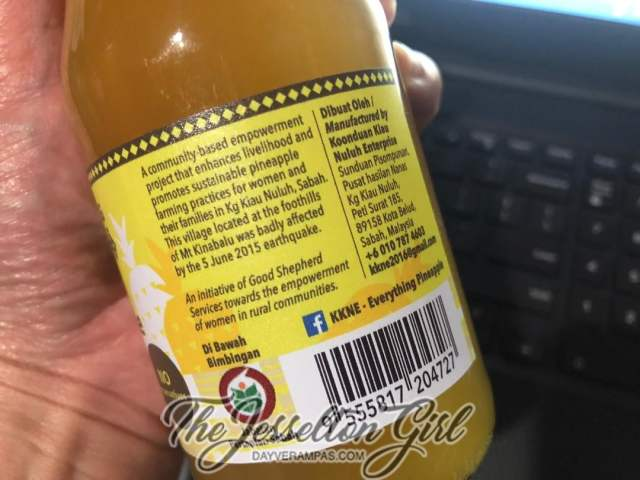 Koonduan Kiau Nuluh's Everything Pineapple - Pineapple Juice
