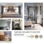 Contemporary Bedroom Mood Board