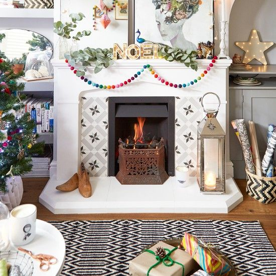 #Holiday Mantle Decorating for Every Design Style