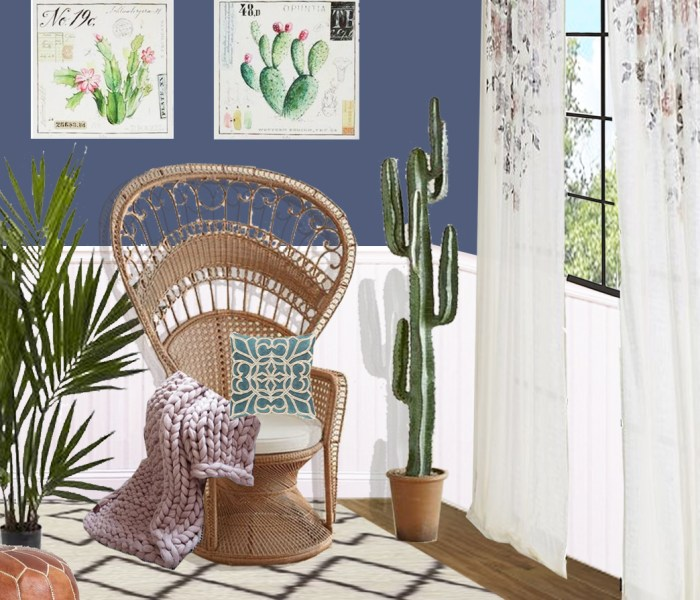 Shop The Look: Bohemian Inspired Reading Nook