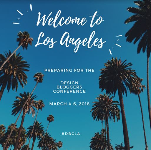 #DBCLA: Preparing for The Design Bloggers Conference
