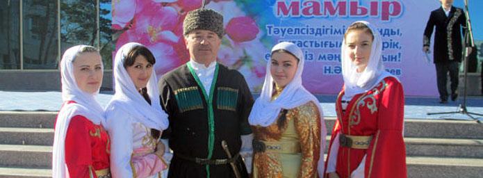 Представители этнокультурных объединений Ассамблеи народа Казахстана Павлодарской области