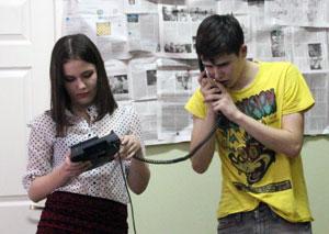 «Молодые люди» – это спектакль для молодых актеров и молодых зрителей.