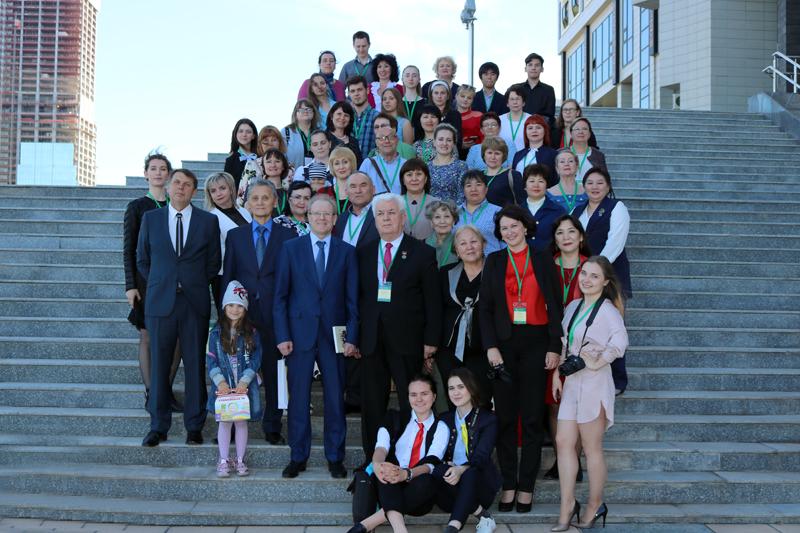 Участники Международной научно-практической конференции «Немцы Казахстана: люди, события, эпохи»