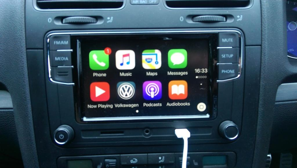 RCD330 with apple car play  page 1  Sat Nav and Car