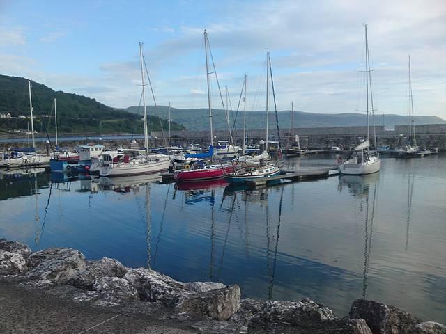 Glenarm Harbour