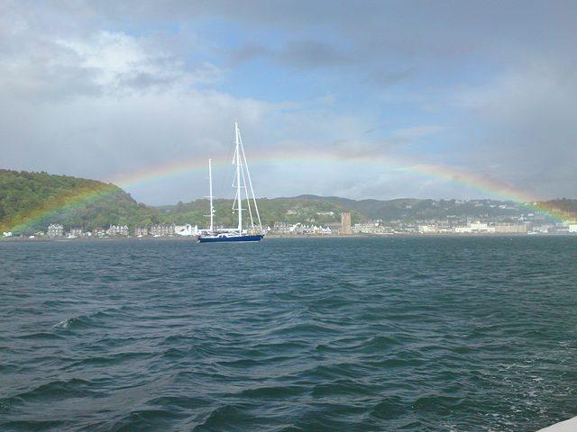 Rainbow at Oban