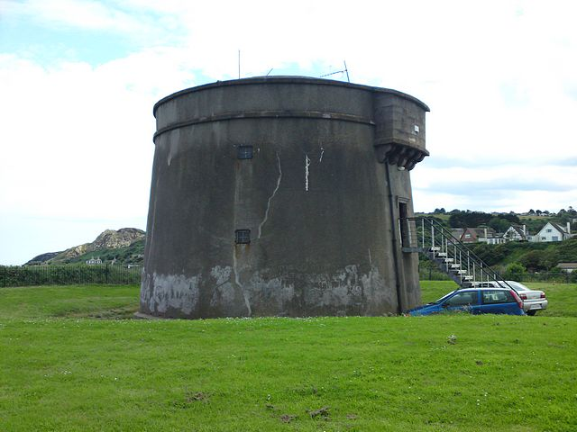 Martello Tower, Howth.  Home of 'Ye Old ' Radio Museum.