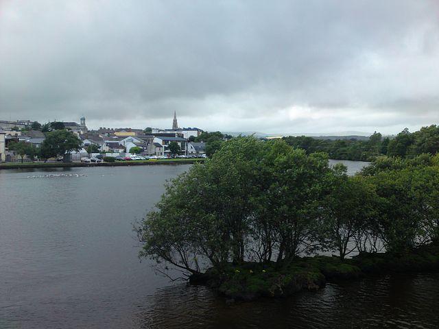 River at Arklow.