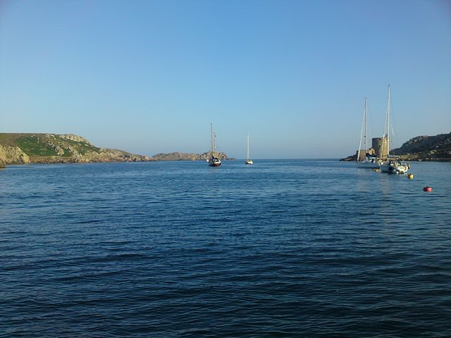New Grimsby Sound, Tresco, Isles of Scilly.