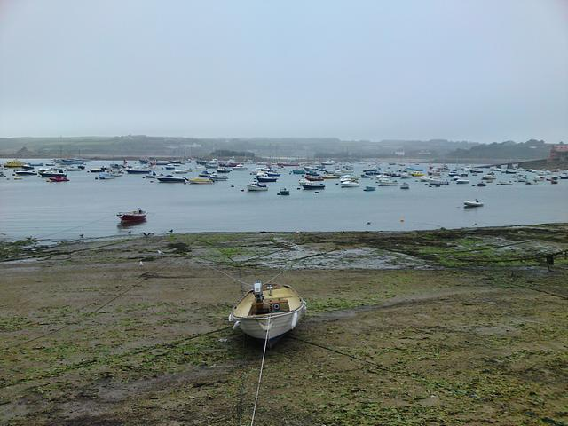 St Mary's, Isles of Scilly at low water.