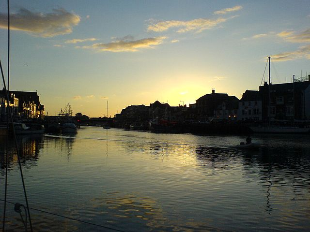 Sunrise at Weymouth