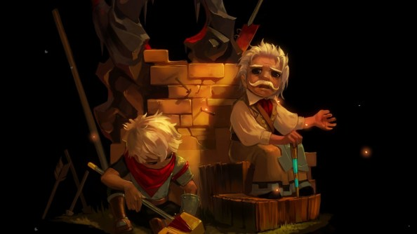 """""""Rucks And The Kid"""" from Bastion"""