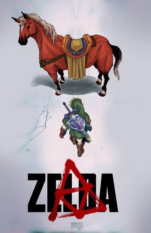 """""""Zelda X Akira"""". Well I'd watch it"""