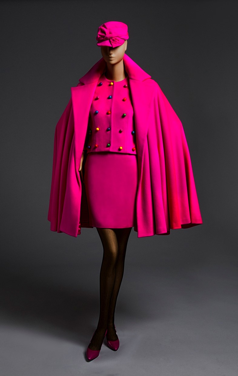 Patrick Kelly suit and cape ensemble, FW 1989 collection