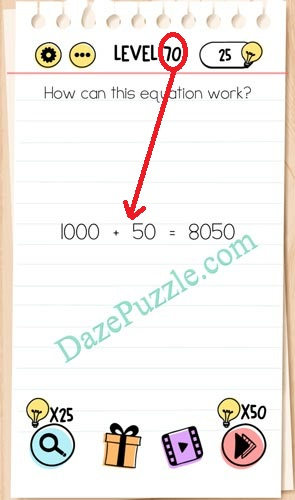 Brain Test Level 68 : brain, level, Brain, Level, Equation, Answer, Puzzle
