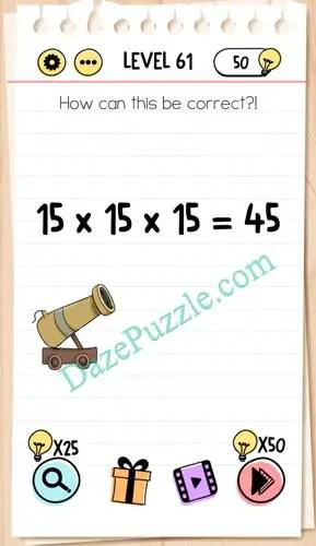 Jawaban Permainan Brain Test : jawaban, permainan, brain, Brain, Level, Correct, Answer, Puzzle