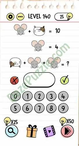 Brain Test Level 137 : brain, level, Brain, Level, Answer, Puzzle