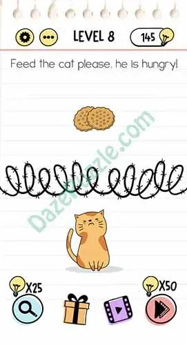 Jawaban Brain Out Level 8 : jawaban, brain, level, Brain, Level, Please,, Hungry, Answer, Puzzle