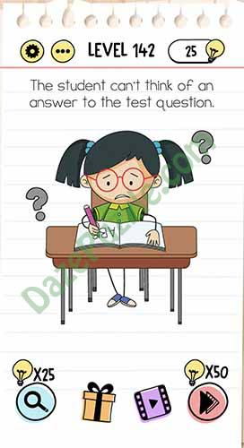 Jawaban Brain Out Level 141 : jawaban, brain, level, Brain, Level, Student, Can't, Think, Answer, Puzzle