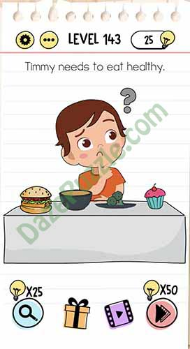 Jawaban Brain Test Level 140 : jawaban, brain, level, Brain, Level, Timmy, Needs, Healthy, Answer, Puzzle