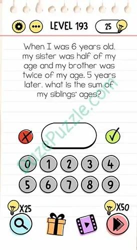 Kunci Jawaban Brain Out Level 38 : kunci, jawaban, brain, level, Brain, Level, Years, Sister