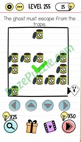 Brain Test Level 225 : brain, level, Brain, Level, (NEW), Ghost, Escape, Traps, Answer, Puzzle