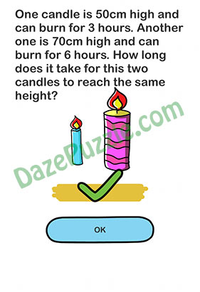 Brain Out Level 120 : brain, level, Brain, Level, (Updated), Candle, Hours., Answer, Puzzle