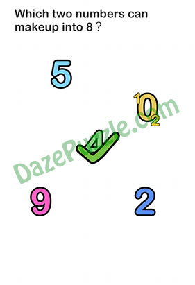 Brain Out Level 160 : brain, level, Brain, Level, Answer, (Updated),, Which, Numbers, Makeup, Puzzle