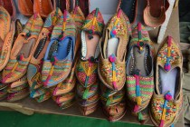 Rajasthani Sandals At Flea Market Anjuna Beach