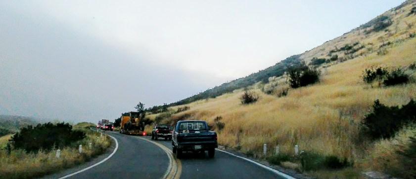 Border to La Paz #14 - Vineyard Area