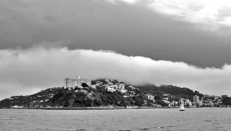 Black & White Pics Of Wellington Harbor