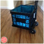 How To Make a Liner for a Plastic Milk Crate