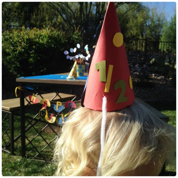 How to throw a half birthday party in half the time