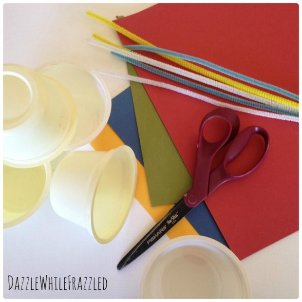 How to make a half party hat for a half birthday party