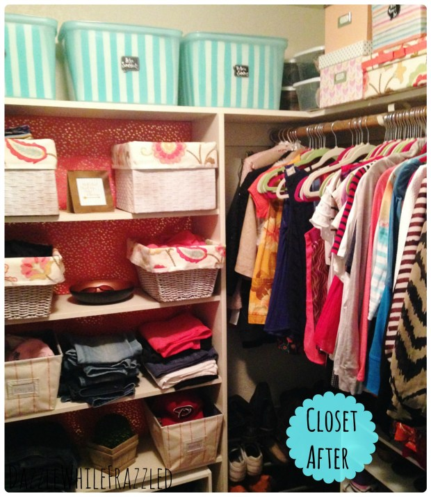 Master Closet Makeover Good Housekeeping Spring Cleaning Challenge
