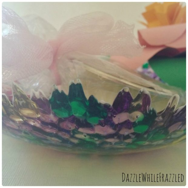 Melted Bead Bowl for Mother's Day Gift