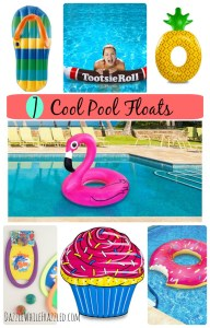 Float Away Summer 2016 with Cool Pool Floats