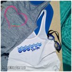 How to Make Cute Freezer Paper Summer Swim Shirts