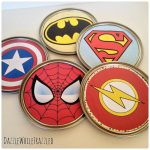 How to Make Fun Paint Can Lid Superhero Wall Decor