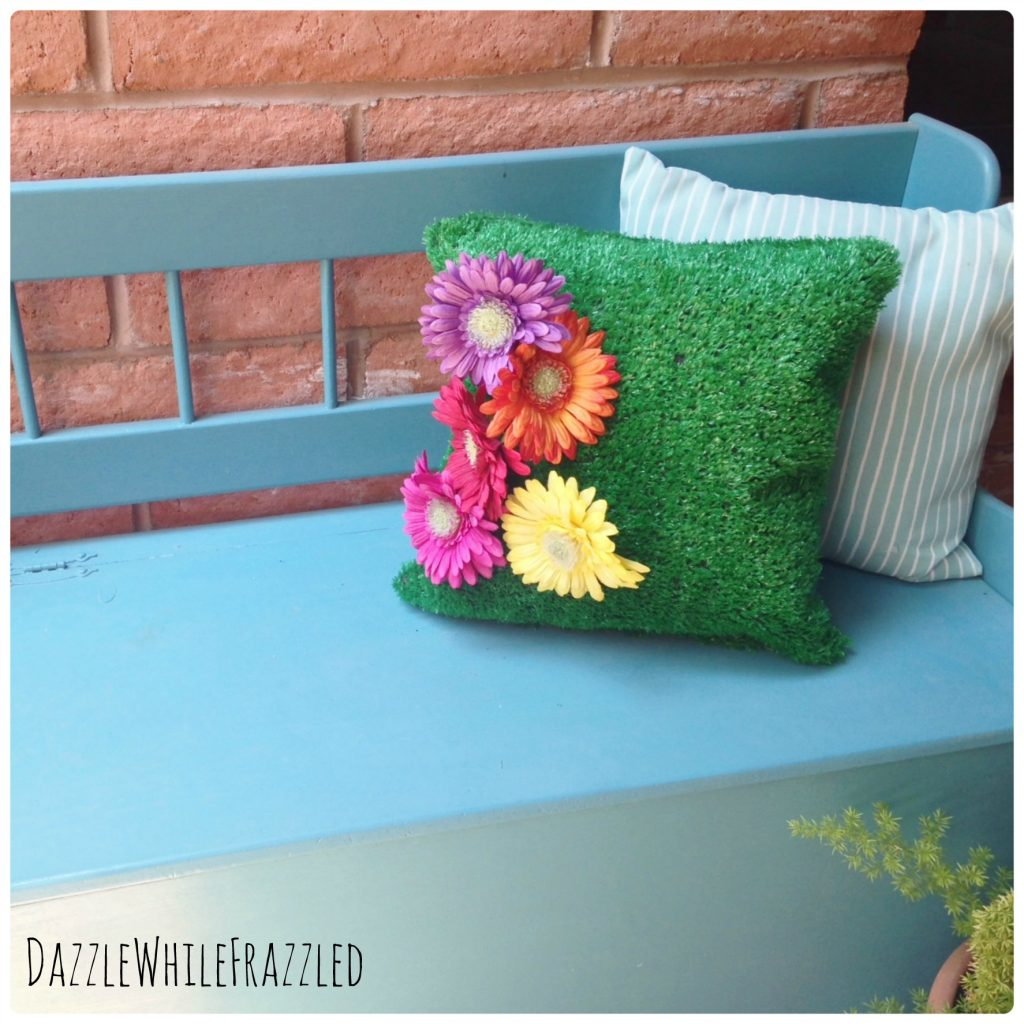 Attractive How To Make An Astro Turf Pillow Idea