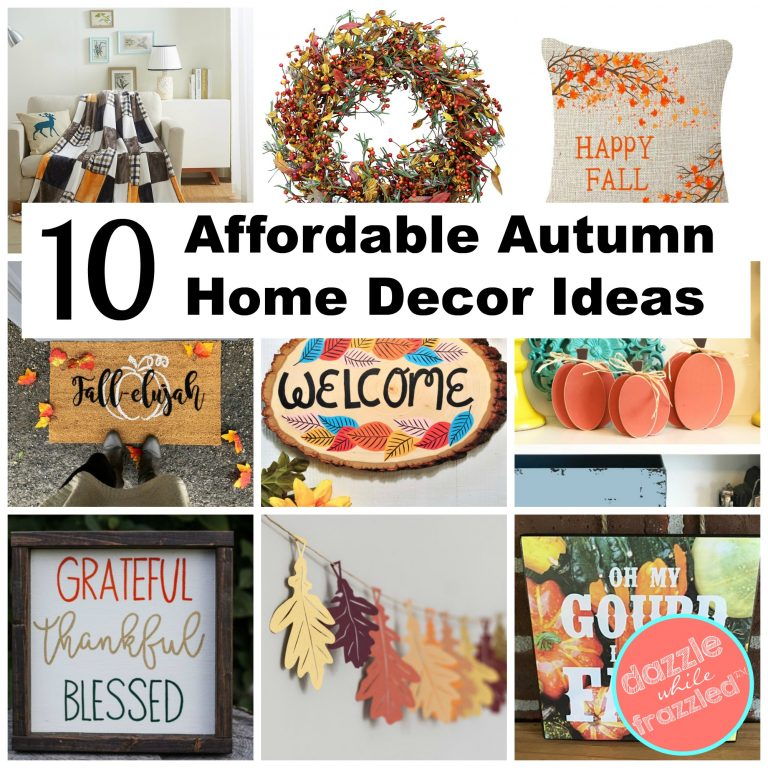 10 affordable autumn home decor ideas