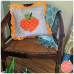 How to Make Cute Fleece Pumpkin Pillow Cover