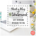 Start a Blog with SiteGround Hosting