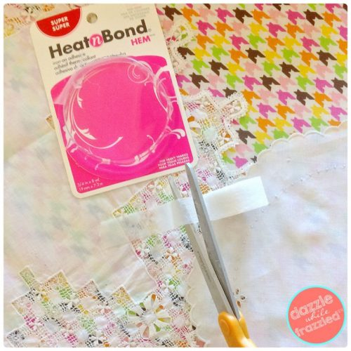 Diy vintage linens no sew 10 minute table runner for 10 minute table runner placemats