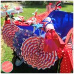 How to Decorate Fun Patriotic Wagon for July 4th Parade