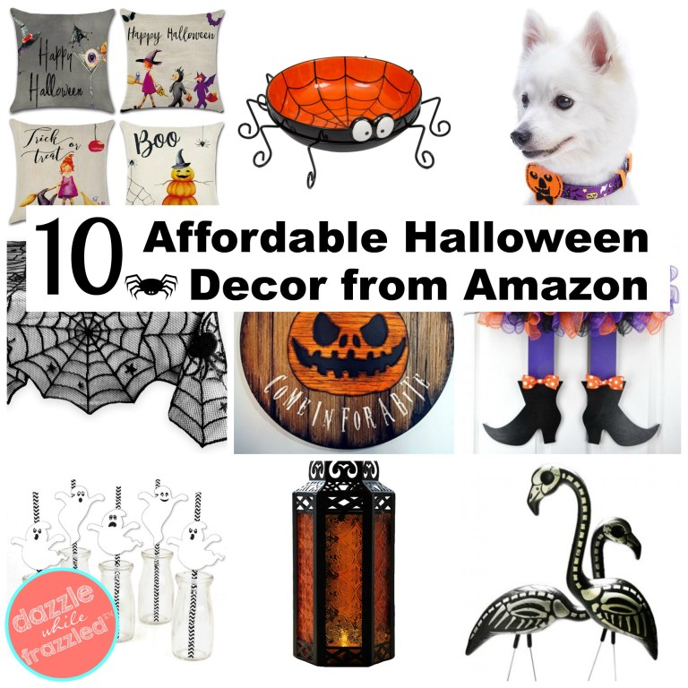 10 affordable Halloween home decor ideas you can buy today on Amazon for a spooky and cute Halloween.