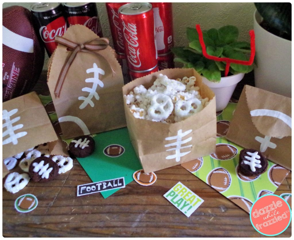 Throw a football tailgate party at home with Coca-Cola and COKE REAL SUGAR | DazzleWhileFrazzled.com